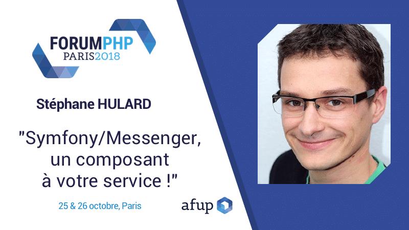Retrouvez moi au forum PHP 2018 organisé par l'AFUP !
